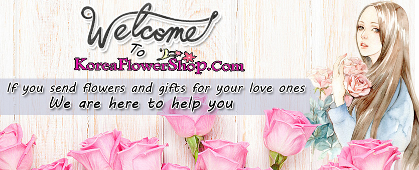send flower gifts to korea