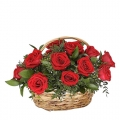 send roses basket to korea
