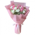 send roses bouquet to korea