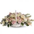 send christmas roses basket to korea