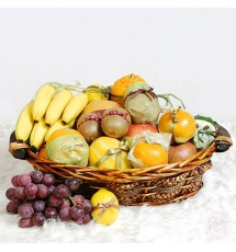 Fresh Fruit Basket Send to Korea